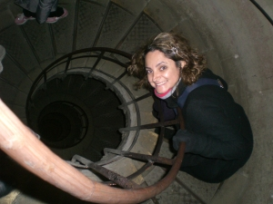 Arco do Triunfo escada