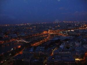 Torre Eiffel vista noturna